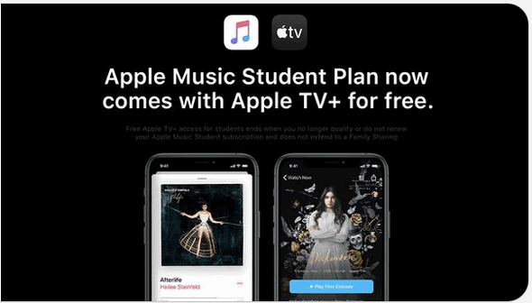 Apple Music for students