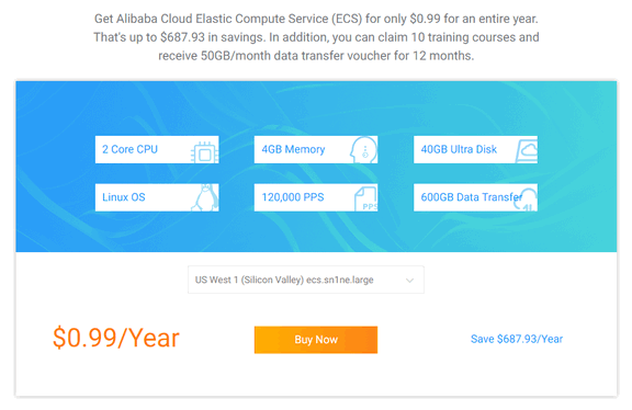 alibaba cloud for students