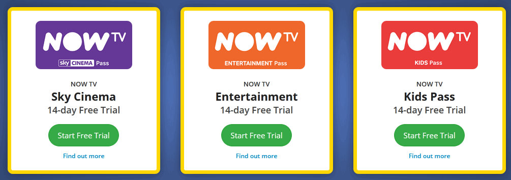 Now tv student offer
