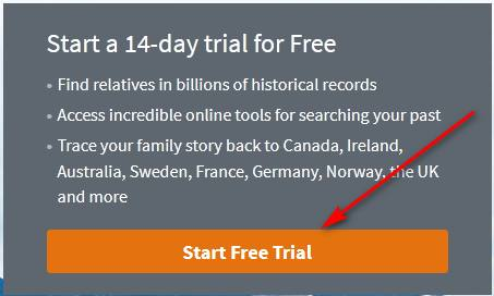 Ancestry free trial for students