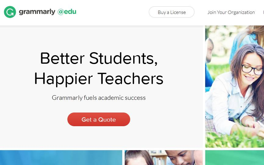 Grammarly for students