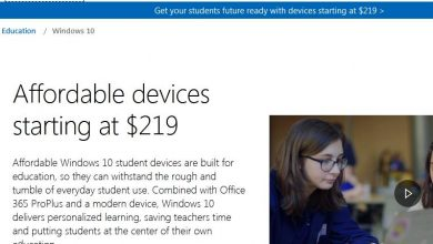 Windows 10 for students