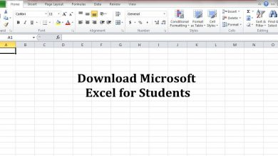 Excel for students