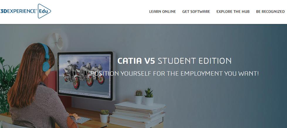 CATIA student version