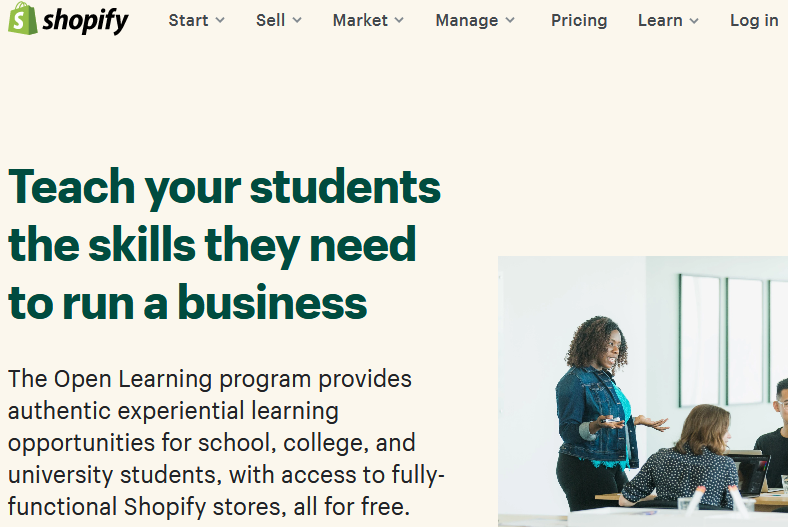 shopify student discount