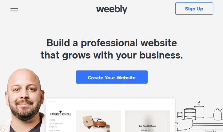 Weebly for students - homepage
