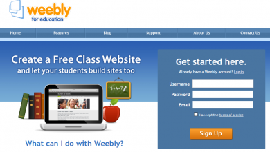 Weebly for students