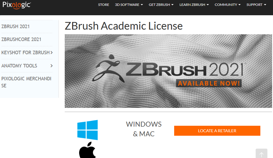 ZBrush for students