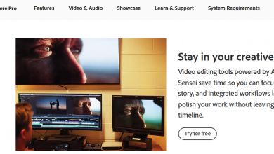 Adobe Premiere Pro for students: Homepage