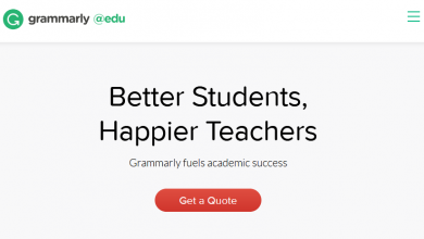 Free plagiarism checker for students: Grammarly