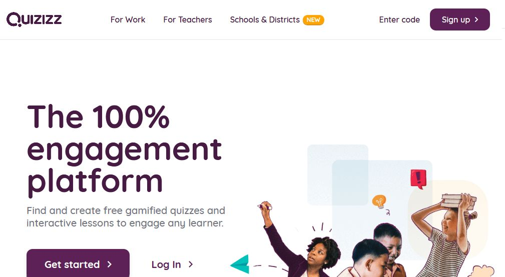 Quizizz for students