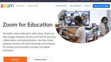 Zoom for students: Homepage