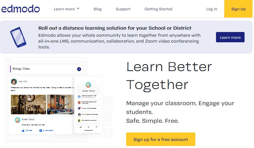 edmodo for students