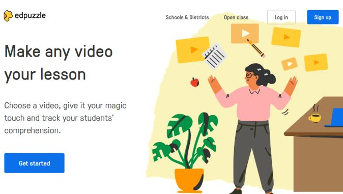 Edpuzzle for students: Homepage