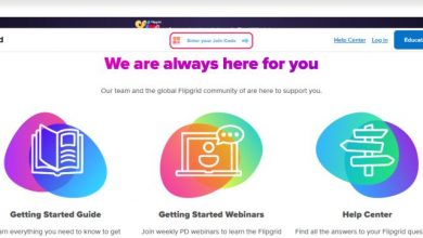 Flipgrid for students: Homepage