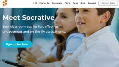Socrative for students: Homepage