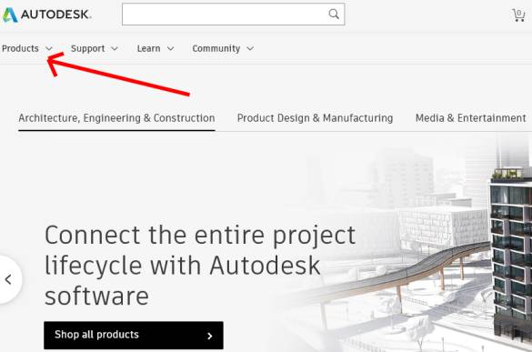 Download AutoCAD latest version from AutoDesk