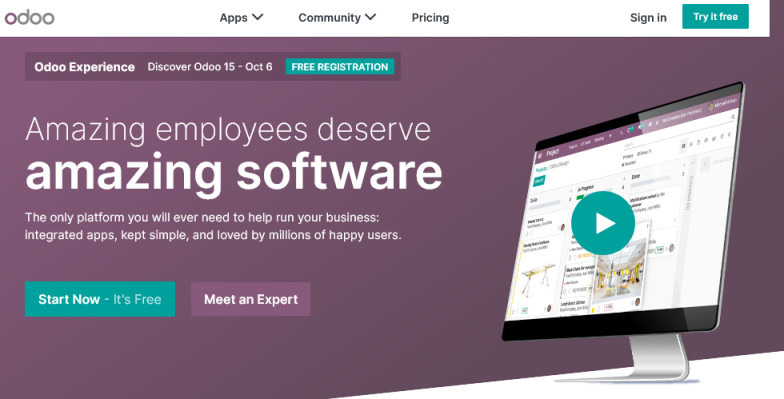 Download Odoo Latest Version